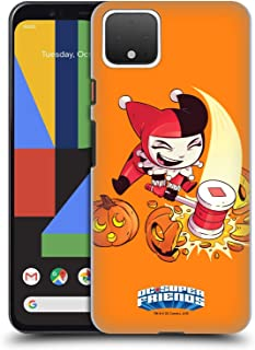 Official Super Friends DC Comics Harley Quinn Halloween Toddlers Holidays Hard Back Case Compatible for Google Pixel 4