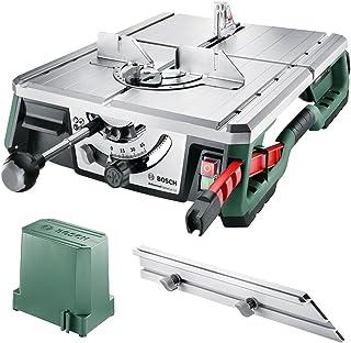 Bosch NanoBlade AdvancedTableCut 52 - Sierra de Mesa, 550 W, Tecnología NanoBlade, en Caja
