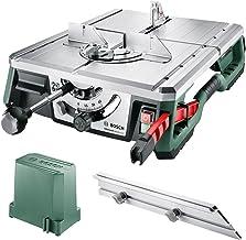 Bosch Home And Garden Advancedtablecut 52 Tezgah Tipi Testere, Yeşil, 550 W, 8.5 Kg, 8.200 Dev/Dak