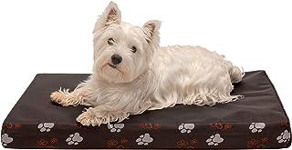 Furhaven Pet Dog Bed   Deluxe Cooling Gel Memory Foam Orthopedic Mat Foam Water-Resistant Indoor/Outdoor Garden Print Trad...