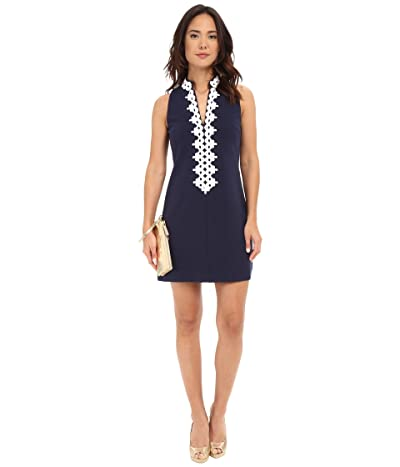 Lilly Pulitzer Callista Shift Dress (True Navy) Women