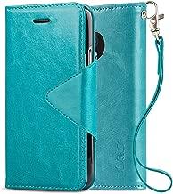 J&D Case Compatible for Moto G5 Plus Case, [Wallet Stand] [Slim Fit] [Modern Series] Heavy Duty Protective Shockproof Flip Wallet Case for Motorola G5 Plus 5.2