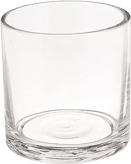 WGV Clear Cylinder Glass Vase, 3