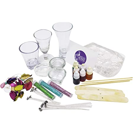 Asian Hobby Crafts Candle Making Kit, Clear