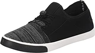 Earton Stylish & Designer Casual Sneakers Shoes for Men Size: 6 (Colour: Black) _ 43