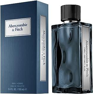 Abercrombie & Fitch First Instinct Blue for Men Eau de Toilette Spray, 3.4 Ounce