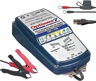 OptiMate TM254 9-step 12 V 10 A förseglade batteriladdare och huvudhållare