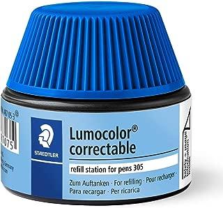 Lumocolor Correctable Pen Refill Station Blue Staedtler
