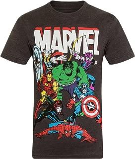 Comics Official Gift Boys Kids Character T-Shirt Hulk Iron Man Thor