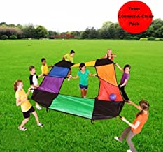 KINDEN Parachutes Sports - Team Building Activity PE & Recreation Youth Character Development Toy for Kids and Adults
