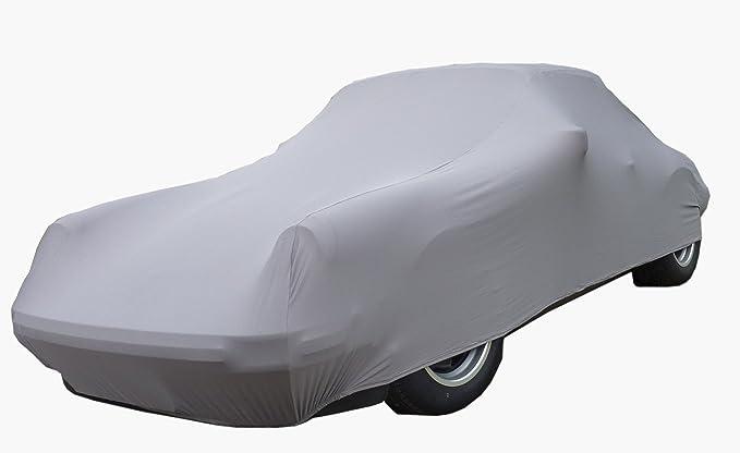 Car E Cover Autoschutzdecke Perfect Stretch Elegant Formanpassend Atmungsaktiv Für Den Innenbereich Farbe Rot Auto