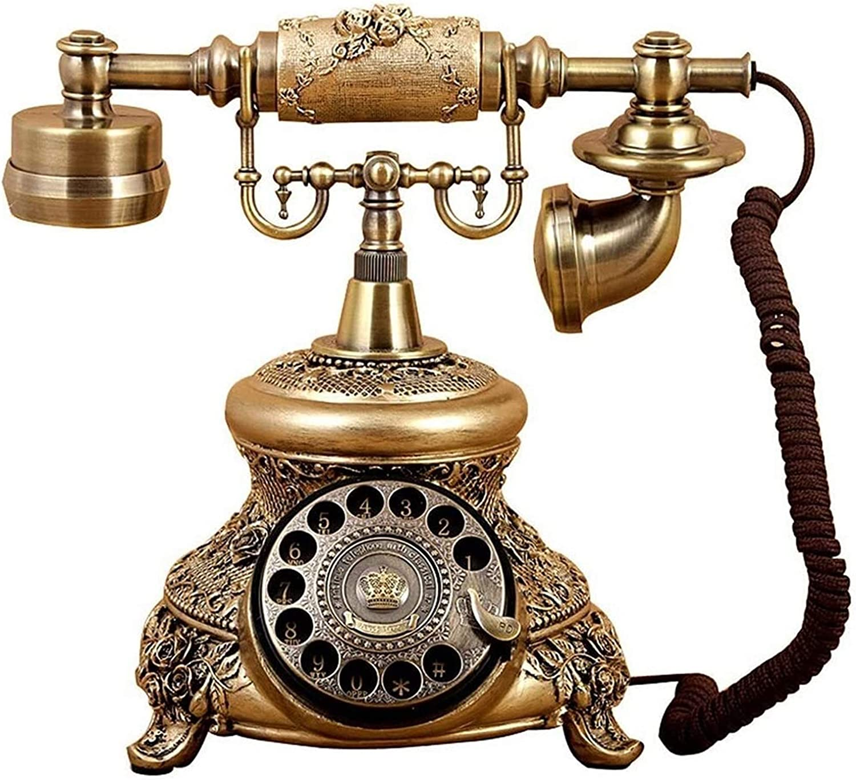 ZHENGYU Fashion Vintage Decorate European Telephone Telepho 5 ☆ popular Type Antique