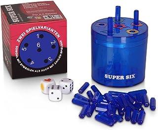 BestSaller 3016 ABS Family Super Seis - Juego de Viaje Grande, Azul, diámetro 10 cm