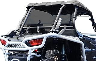 SuperATV Heavy Duty Dark Tint Rear Windshield for Polaris RZR XP 1000 / XP 4 1000 (2014+) - Easy to Install!