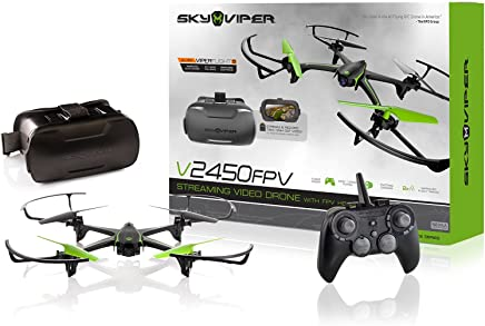 $70 Get Sky Viper v2450FPV Streaming Drone with FPV Goggles