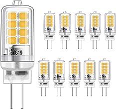 G4 LED-lamp 3W gelijkwaardige 20W halogeengloeilampen, warm wit 3000K, g4 fitting energiebesparing, geen flikkering, niet ...