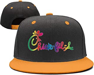 TEedhkf3 Man Cute Snapbacks Cap Chick-fil-A-Logo Breathable Hat