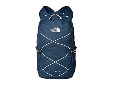 The North Face Jester Backpack (Blue Wing Teal/Tin Grey) Backpack Bags