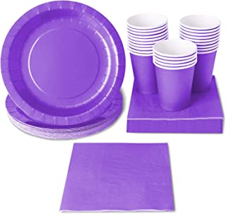 butterfly meadow lavender 28pc dinnerware set