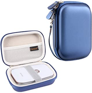 Canboc Shockproof Carrying Case Storage Travel Bag for HP Sprocket Portable Photo Printer and (2nd Edition) / Polaroid Zip Mobile Printer/Lifeprint 2x3 Portable Protective Pouch Box, Blue