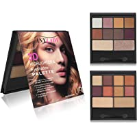 ZZLM 10 Colors Ladies Shimmer Matte Eyeshadow Palettes Set
