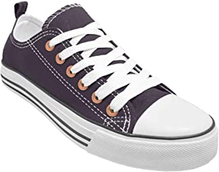 Haughty Canvas Shoes Women Fashion Walking Shoes Ladies Sneaker Low Top Black