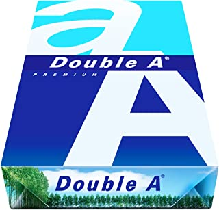 Double a paper PAPIER A4 500V. 80GR. A4 (210×297 mm) Blanco - Papel (A4 (210x297 mm), Blanco, 80 g/m², 100 hojas)