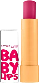 Maybelline Baby Lips Moisturizing Lip Balm , Cherry Me 0.15 oz (Pack of 6)