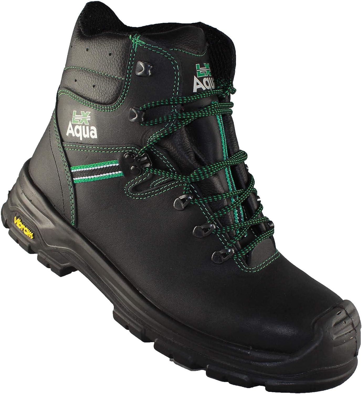 Lupriflex 3-608 S3 HRO SRC Safety Boots Combat Boots high Black