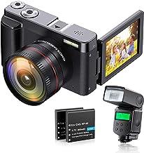 Sponsored Ad – ZORNIK Digital Camera,Ultra HD 44MP Video Camera,with Ultra-High-Definition Wide-Angle Lens 16X Digital Zoo...