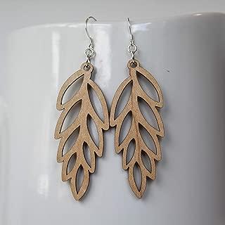 Maple Willow Earrings // Wood Earrings // A New Grace