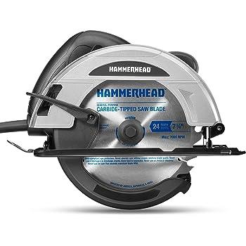 Hammerhead 12-Amp 7-1/4 Inch Circular Saw with Saw Blade – HACS120