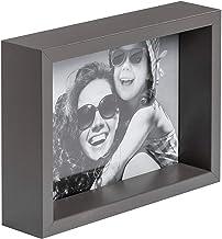 BD ART 10 x 15 cm Box Marco de Fotos, Gris Oscuro