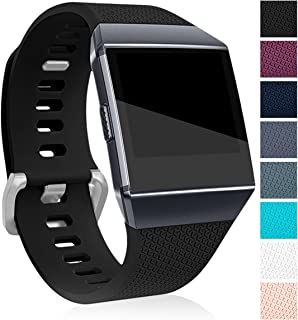 Maledan Replacement Bands Compatible for Fitbit Ionic,  Classic Replacement Accessory Wristbands Compatible with Fitbit Ionic Smart Watch,  Large Small