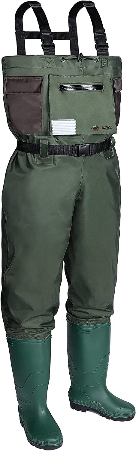 Max San Diego Mall 76% OFF RUNCL Chest Waders Waist-High Reinfor Bootfoot -