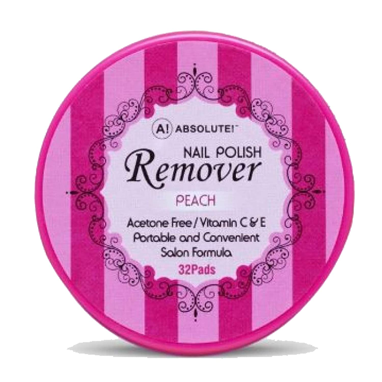 Absolute Nail Polish Remover Pads Over item handling Peach NEW New product! New type YO Scent by ABSOLUTE