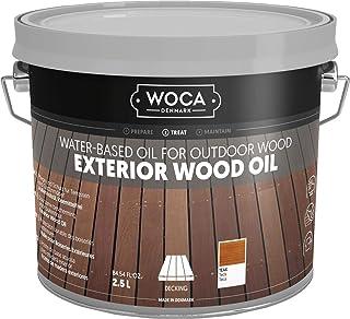 WOCA 617958A Exterior Öl, Teak 2,5 L