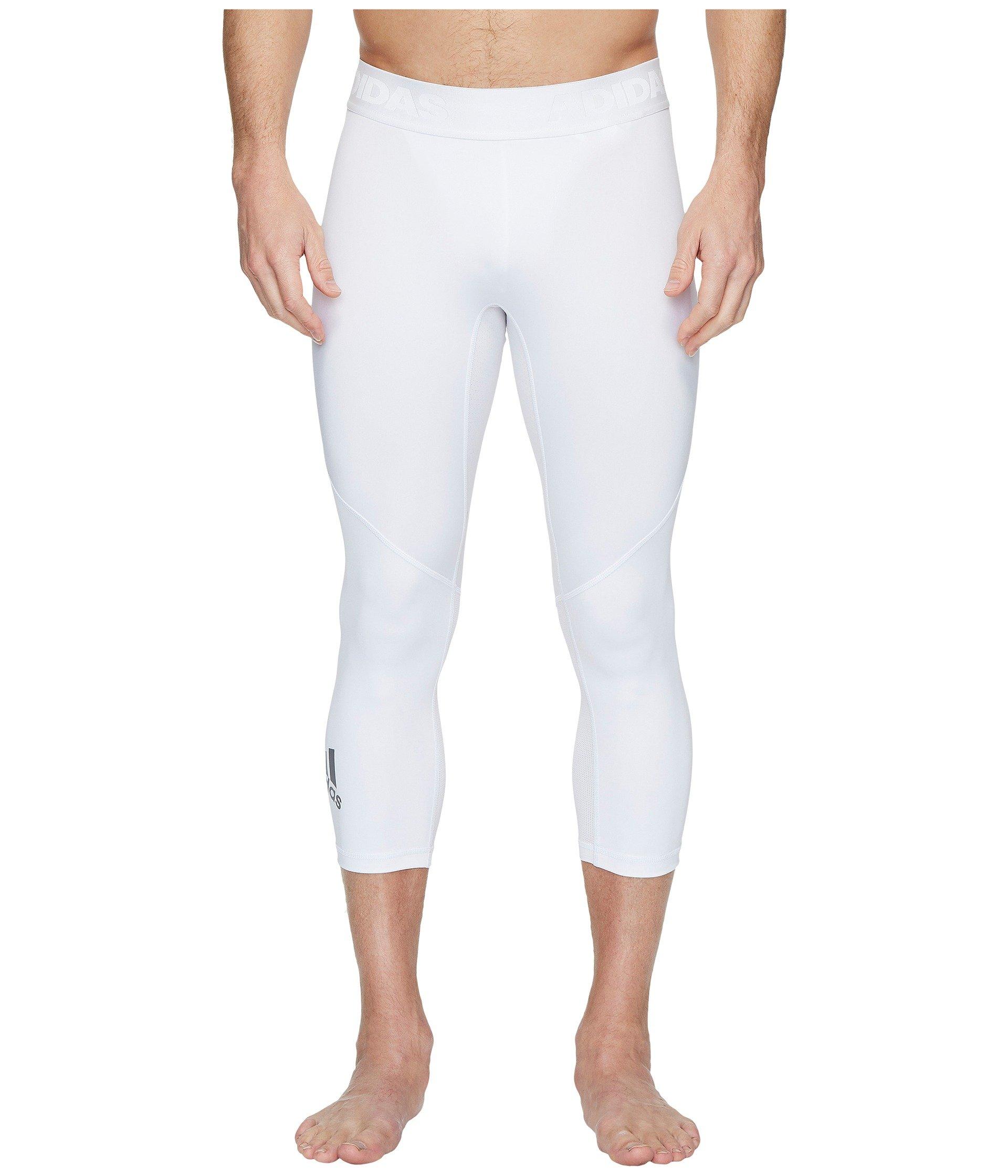 Sport 3 Adidas 4 Alphaskin White Tights qaFFw5f