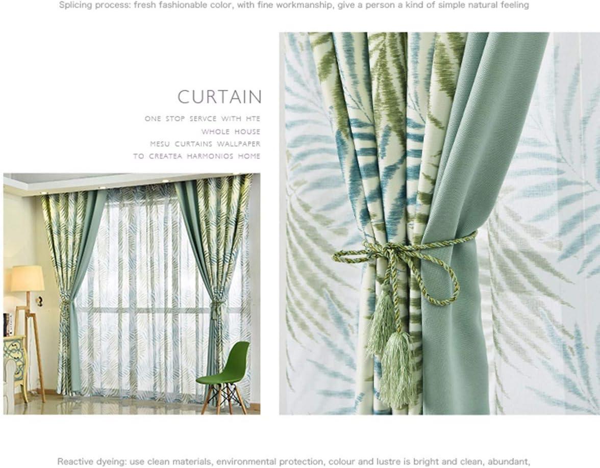 250 A XPY-Curtain Gardine Vorh/änge Gardinen /Wohnzimmer Schlafzimmer Schatten Pfau Orchidee Bestickt Umwelt Stoff Vorhang