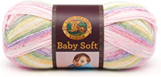 Lion Brand Yarn 920-219C Babysoft Yarn, Circus Print
