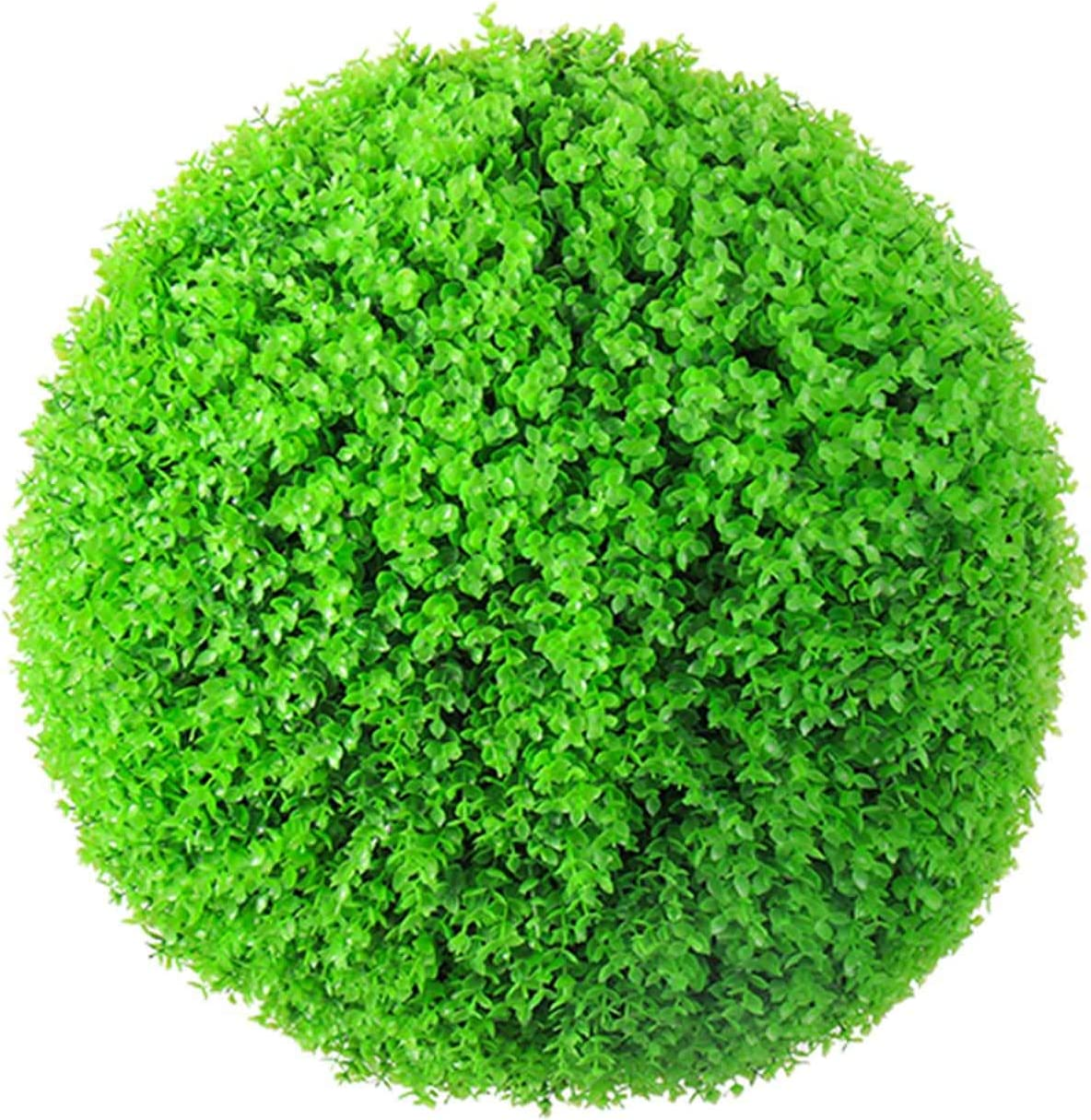 Artificial Plant Topiary Ball Large Bal Round online shop Green Some reservation Bright Grass