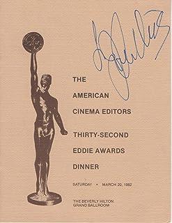 Joan Collins Signed Autographed 1982 Awards Program Cinema Editors JSA JJ41570