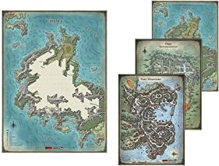 Gale Force Nine gf972783–D & D Tomb of Annihilation Map Set