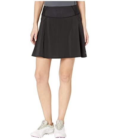 PUMA Golf PWRSHAPE Solid Woven Skirt (PUMA Black) Women