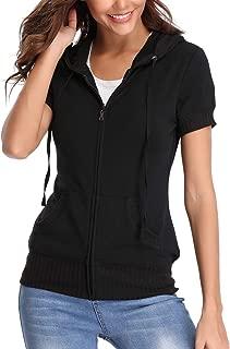 Long Sleeves Jackets for Women Basic Hoodie Zip up Sweatshirt Warm Coat Jogging Suits