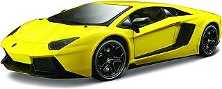 مايستو مجسم سيارة لمبرجيني افنتادور ال بي 700-4 حجم 1:24 ، اصفر