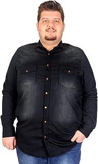 Mode XlErkek Gömlek Kot U.Kol Çift Cep Kapaklı 03