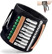 Gepersonaliseerde geschenken voor mannen magneetarmband ambachtslieden gereedschap met 15 supersterke magneten. Beste cade...