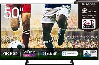 Hisense 50AE7200F 126 cm (50 Zoll) Fernseher (4K Ultra HD, HDR, Triple Tuner..
