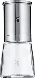 WMF De Luxe Salz und Pfeffermühle, unbefüllt, Cromargan Edelstahl Glas,..